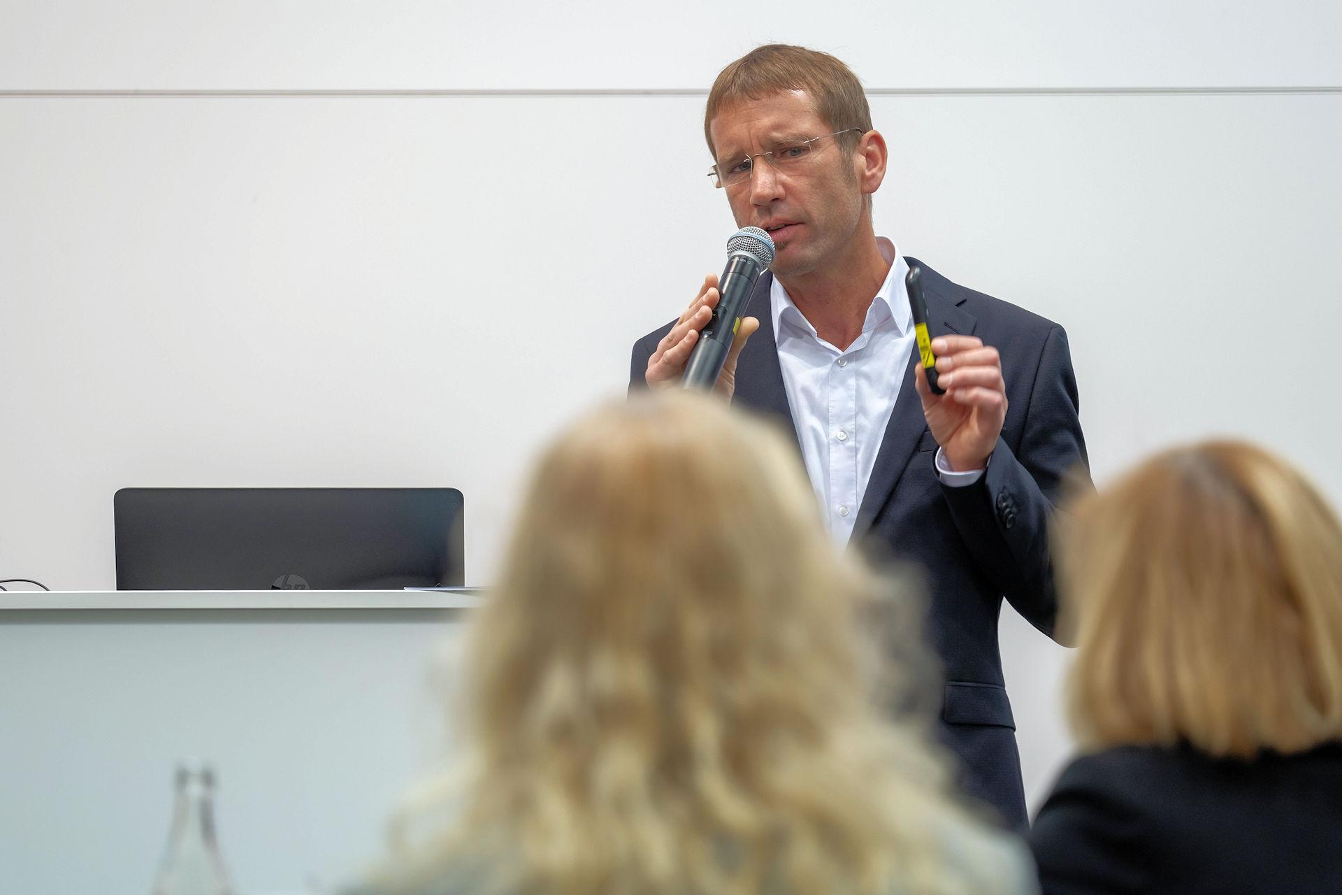 Claus Hofmann IT-Talk 2019 – Urheber: NuernbergMesse / Thomas Geiger