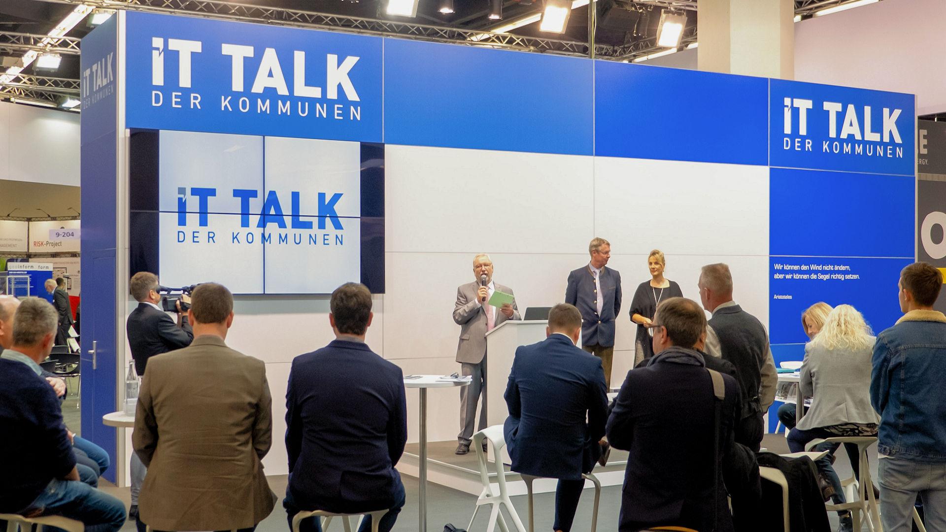 IT-Talk der Kommunen - Urheber: NuernbergMesse / Thomas Geiger